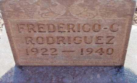 RODRIGUEZ, FREDERICO C. - Yavapai County, Arizona   FREDERICO C. RODRIGUEZ - Arizona Gravestone Photos