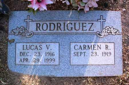 RODRIGUEZ, LUCAS V. - Yavapai County, Arizona | LUCAS V. RODRIGUEZ - Arizona Gravestone Photos