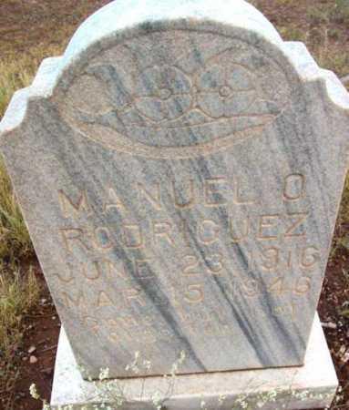 RODRIGUEZ, MANUEL O. - Yavapai County, Arizona | MANUEL O. RODRIGUEZ - Arizona Gravestone Photos