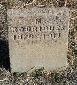 RODRIGUEZ, MARGUERITO - Yavapai County, Arizona   MARGUERITO RODRIGUEZ - Arizona Gravestone Photos