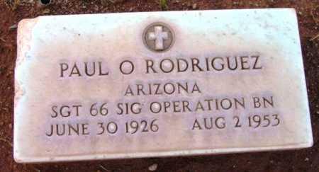 RODRIGUEZ, PAUL O. - Yavapai County, Arizona | PAUL O. RODRIGUEZ - Arizona Gravestone Photos