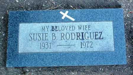 RODRIGUEZ, SUSIE B. - Yavapai County, Arizona | SUSIE B. RODRIGUEZ - Arizona Gravestone Photos