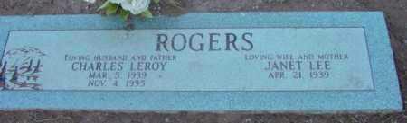 ROGERS, CHARLES LEROY - Yavapai County, Arizona | CHARLES LEROY ROGERS - Arizona Gravestone Photos