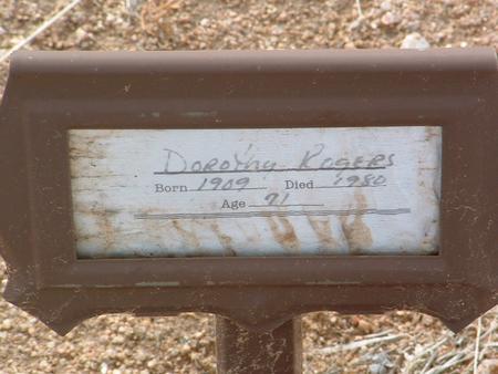 RODGERS, DOROTHY - Yavapai County, Arizona | DOROTHY RODGERS - Arizona Gravestone Photos