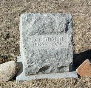 ROGERS, ED S. (EDWARD) - Yavapai County, Arizona   ED S. (EDWARD) ROGERS - Arizona Gravestone Photos