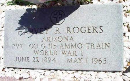 ROGERS, HARVEY ROBERT - Yavapai County, Arizona | HARVEY ROBERT ROGERS - Arizona Gravestone Photos