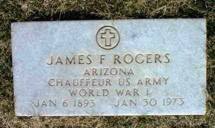 ROGERS, JAMES FRANCIS - Yavapai County, Arizona | JAMES FRANCIS ROGERS - Arizona Gravestone Photos