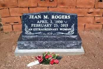 ROGERS, JEAN M. - Yavapai County, Arizona | JEAN M. ROGERS - Arizona Gravestone Photos