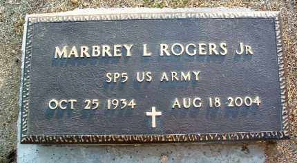 ROGERS, MARBREY L., JR. - Yavapai County, Arizona | MARBREY L., JR. ROGERS - Arizona Gravestone Photos