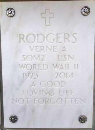 ROGERS, VERNE A. - Yavapai County, Arizona | VERNE A. ROGERS - Arizona Gravestone Photos