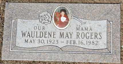 ROGERS, WAULDENE MAY - Yavapai County, Arizona | WAULDENE MAY ROGERS - Arizona Gravestone Photos
