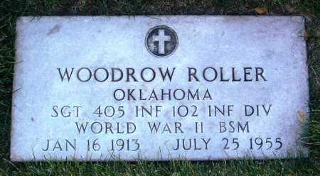 ROLLER, WOODROW - Yavapai County, Arizona | WOODROW ROLLER - Arizona Gravestone Photos