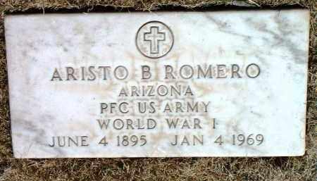 ROMERO, ARISTO B. (ERNIE) - Yavapai County, Arizona | ARISTO B. (ERNIE) ROMERO - Arizona Gravestone Photos