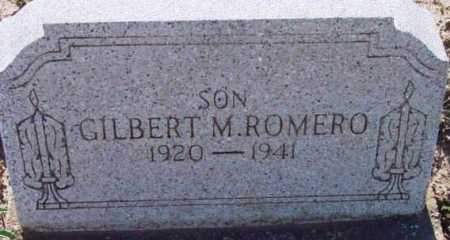 ROMERO, GILBERT MAZON - Yavapai County, Arizona | GILBERT MAZON ROMERO - Arizona Gravestone Photos