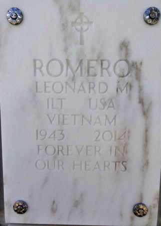 ROMERO, LEONARD MICHAEL - Yavapai County, Arizona | LEONARD MICHAEL ROMERO - Arizona Gravestone Photos