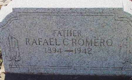 ROMERO, RAFAEL C. - Yavapai County, Arizona | RAFAEL C. ROMERO - Arizona Gravestone Photos