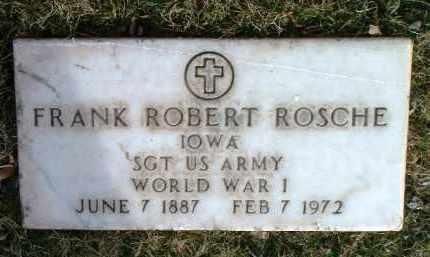 ROSCHE, FRANK ROBERT - Yavapai County, Arizona   FRANK ROBERT ROSCHE - Arizona Gravestone Photos