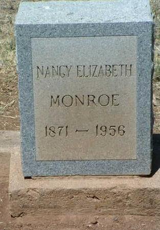 ROSENBERGER MONROE, NANCY ELIZABETH - Yavapai County, Arizona   NANCY ELIZABETH ROSENBERGER MONROE - Arizona Gravestone Photos