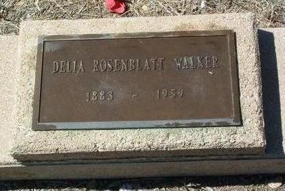 WALKER, DORA CORDELIA (DELIA) - Yavapai County, Arizona | DORA CORDELIA (DELIA) WALKER - Arizona Gravestone Photos