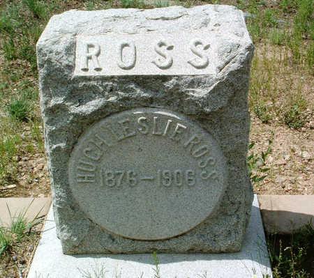ROSS, HUGH LESLIE - Yavapai County, Arizona | HUGH LESLIE ROSS - Arizona Gravestone Photos