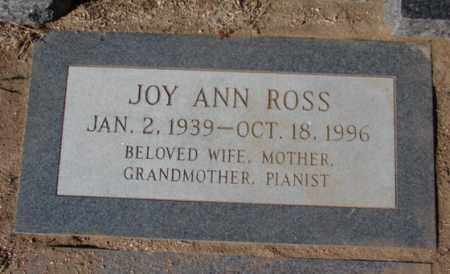 ROSS, JOY ANN - Yavapai County, Arizona | JOY ANN ROSS - Arizona Gravestone Photos