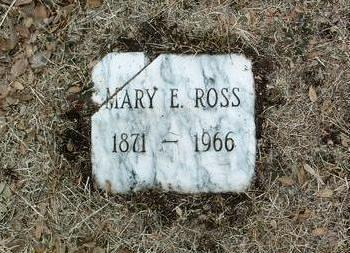 ROSS, MARY E. - Yavapai County, Arizona | MARY E. ROSS - Arizona Gravestone Photos