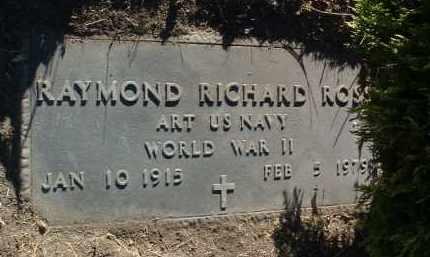 ROSS, RAYMOND RICHARD - Yavapai County, Arizona | RAYMOND RICHARD ROSS - Arizona Gravestone Photos
