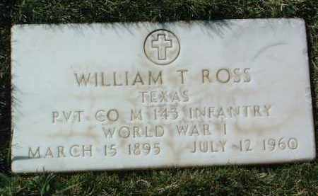 ROSS, WILLIAM THOMAS - Yavapai County, Arizona | WILLIAM THOMAS ROSS - Arizona Gravestone Photos