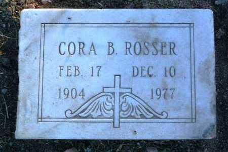BREWER ROSSER, CORA B. - Yavapai County, Arizona | CORA B. BREWER ROSSER - Arizona Gravestone Photos