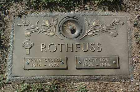 LEWIS ROTHFUSS, MARY L. - Yavapai County, Arizona | MARY L. LEWIS ROTHFUSS - Arizona Gravestone Photos