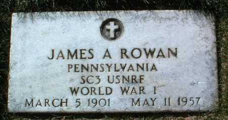 ROWAN, JAMES A. - Yavapai County, Arizona | JAMES A. ROWAN - Arizona Gravestone Photos