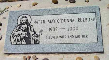 RUEBUSH, HATTIE MAY - Yavapai County, Arizona | HATTIE MAY RUEBUSH - Arizona Gravestone Photos