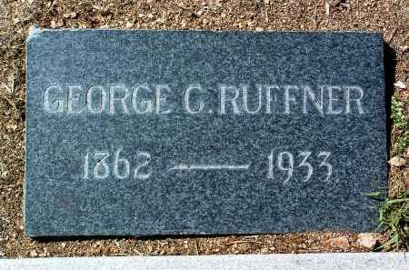 RUFFNER, GEORGE C. - Yavapai County, Arizona | GEORGE C. RUFFNER - Arizona Gravestone Photos