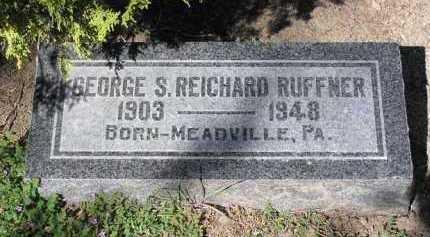 RUFFNER, GEORGE SPENCER - Yavapai County, Arizona | GEORGE SPENCER RUFFNER - Arizona Gravestone Photos
