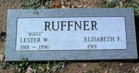 RUFFNER, LESTER WARD - Yavapai County, Arizona | LESTER WARD RUFFNER - Arizona Gravestone Photos