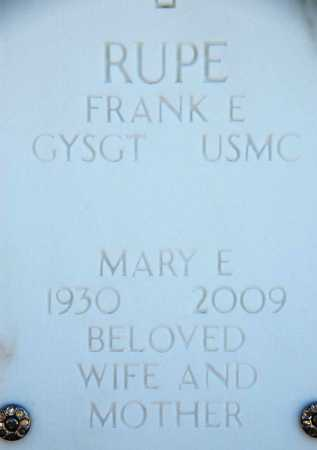 RUPE, MARY EVELYN - Yavapai County, Arizona | MARY EVELYN RUPE - Arizona Gravestone Photos