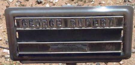 RUPERT, GEORGE WASHINGTON - Yavapai County, Arizona   GEORGE WASHINGTON RUPERT - Arizona Gravestone Photos