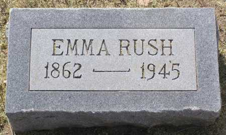 RUSH, EMMA - Yavapai County, Arizona   EMMA RUSH - Arizona Gravestone Photos
