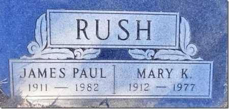 RUSH, JAMES PAUL - Yavapai County, Arizona | JAMES PAUL RUSH - Arizona Gravestone Photos