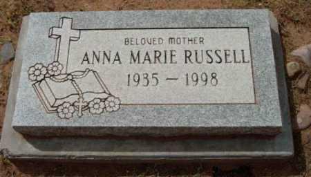 RUSSELL, ANNA MARIE - Yavapai County, Arizona | ANNA MARIE RUSSELL - Arizona Gravestone Photos