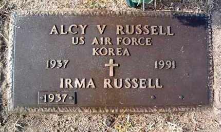 RUSSELL, ALCY VINSON - Yavapai County, Arizona | ALCY VINSON RUSSELL - Arizona Gravestone Photos