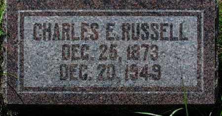 RUSSELL, CHARLES EDWARD - Yavapai County, Arizona | CHARLES EDWARD RUSSELL - Arizona Gravestone Photos