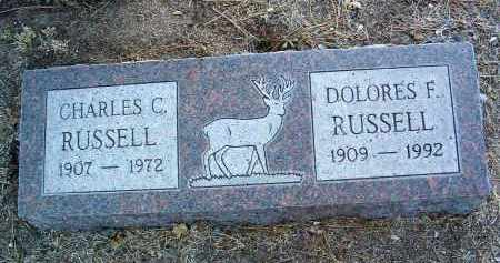 RUSSELL, CHARLES CLIFFORD - Yavapai County, Arizona   CHARLES CLIFFORD RUSSELL - Arizona Gravestone Photos
