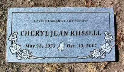 RUSSELL, CHERYL JEAN - Yavapai County, Arizona | CHERYL JEAN RUSSELL - Arizona Gravestone Photos