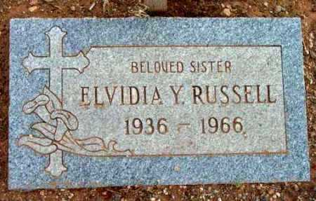 RUSSELL, ELVIDIA YVONNE - Yavapai County, Arizona | ELVIDIA YVONNE RUSSELL - Arizona Gravestone Photos