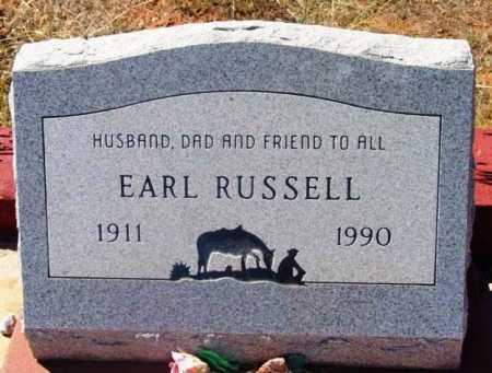 RUSSELL, EARL - Yavapai County, Arizona | EARL RUSSELL - Arizona Gravestone Photos