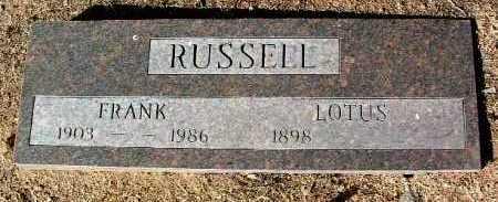 RUSSELL, FRANK - Yavapai County, Arizona   FRANK RUSSELL - Arizona Gravestone Photos