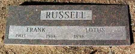 CASBERE RUSSELL, LOTIS C. - Yavapai County, Arizona   LOTIS C. CASBERE RUSSELL - Arizona Gravestone Photos