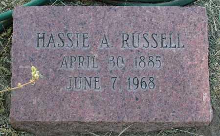 RUSSELL, HASSIE R. - Yavapai County, Arizona | HASSIE R. RUSSELL - Arizona Gravestone Photos