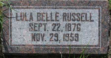 RUSSELL, LULA BELLE - Yavapai County, Arizona | LULA BELLE RUSSELL - Arizona Gravestone Photos